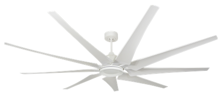 82 inch Liberator Ceiling Fan - Pure White by TroposAir