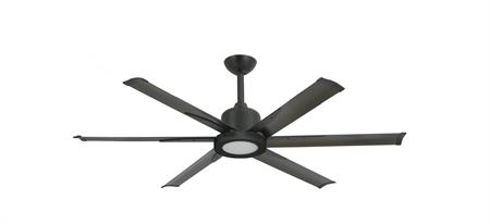 52 inch Titan II Oil Rubbed Bronze Ceiling Fan with Extruded Aluminum Blades with LED Light