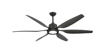 52 inch Titan II Oil Rubbed Bronze Ceiling Fan with LED Light