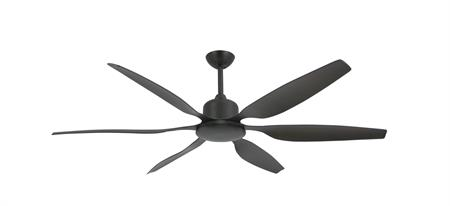 52 inch Titan II Oil Rubbed Bronze Ceiling Fan with Contoured Blades by TroposAir
