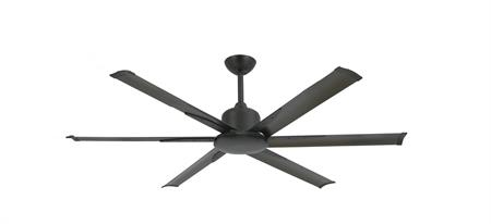 60 inch Titan II Oil Rubbed Bronze Ceiling Fan with Extruded Aluminum Blades by TroposAir