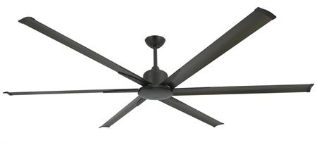 84 inch Titan II Ceiling Fan - Oil Rubbed Bronze Finish with Extruded Aluminum Blades by TroposAir