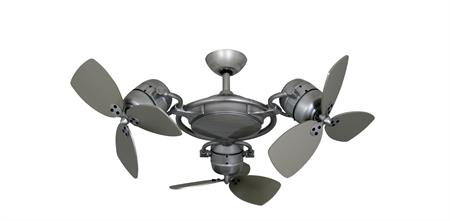 TroposAir Tri Star II Triple Motor Ceiling Fan Outdoor Rated