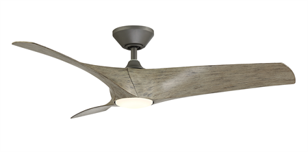 52 inch Zephyr Ceiling Fan - Graphite Finish by Modern Forms
