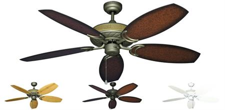 Gulf Coast - Atlantis Outdoor Ceiling Fan w/ 52