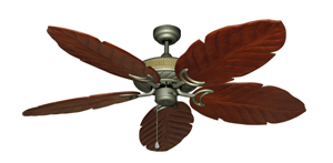 Atlantis Antique Bronze Tropical Ceiling Fan with Arbor 100 Cherry Blades