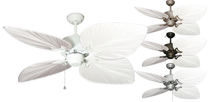 Gulf Coast - Bombay Tropical Outdoor Ceiling Fan - 50