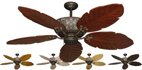 Excalibur Tropical Ceiling Fan w/ 58