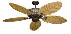 Excalibur Tropical Ceiling Fan with Arbor 100 Maple Blades