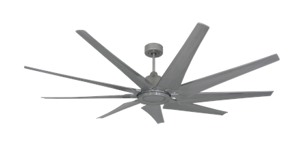 72 inch Liberator Ceiling Fan - Brushed Nickel