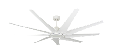 72 inch Liberator Ceiling Fan - Pure White by TroposAir