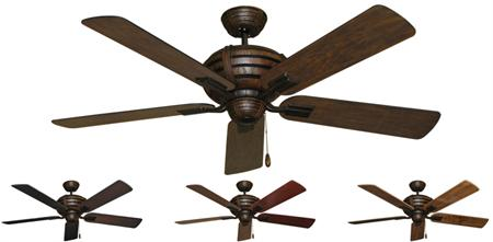 Madeira Tropical Ceiling Fan - 52