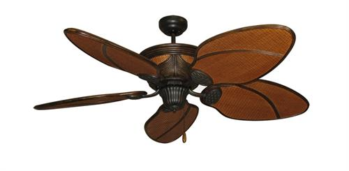 Moroccan Night Tropical Ceiling Fan w/ 52
