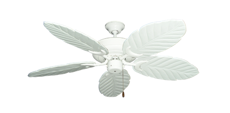 Pure White Ceiling Fan