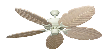 Raindance White Tropical Ceiling Fan with Arbor 100 Whitewash Blades