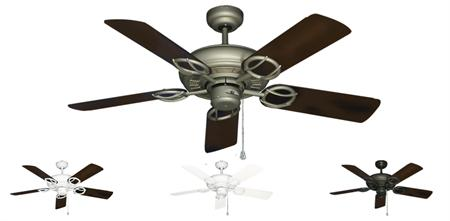 Trinidad Outdoor Tropical Ceiling Fan w/ 44