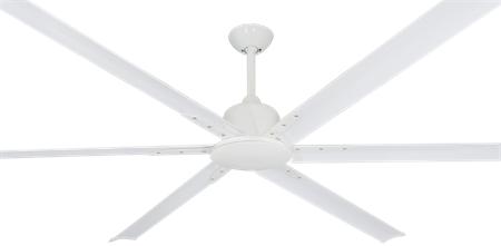 84 inch ceiling fan rustic 84 inch titan ii pure white ceiling fan large by troposair