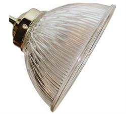 020 Large Ribbed Ceiling Fan Light Side Glass - The Tropical Fan Company