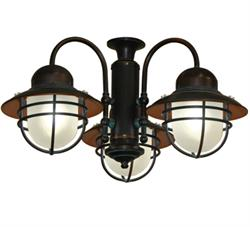 362 lantern light  sc 1 st  TropicalFanCompany.com & 35 inch Double Twin Star Tropical Ceiling Fan with ABS Pure White Blades