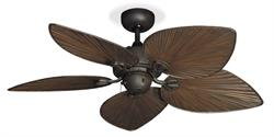 "Bombay Oil Rubbed Bronze Tropical Outdoor Ceiling Fan  w/42"" ORB"