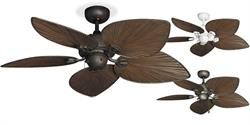 "Gulf Coast - 42"" Bombay Oil Rubbed Bronze Tropical Ceiling Fan"
