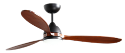 52 inch Koho Oil Rubbed Bronze Ceiling Fan by TroposAir