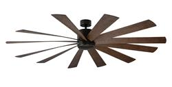 80 inch Windflower Ceiling Fan - Oil Rubbed Bronze Finish by Modern Forms