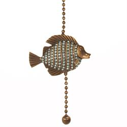 Fan Pull Chain - Tropical Fish