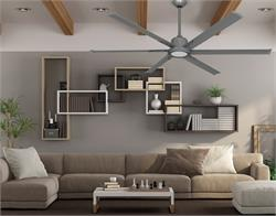 52 inch Titan II Brushed Nickel Ceiling Fan