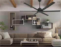 52 inch Titan II Oil Rubbed Bronze Ceiling Fan with Extruded Aluminum Blades