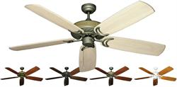 Gulf Coast - Atlantis Outdoor Ceiling Fan w/ Arbor 450 60
