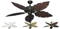 Gulf Coast - Atlantis Outdoor Tropical Ceiling Fan w/ 52