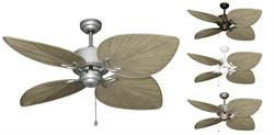 50 inch Bombay Outdoor Tropical Ceiling Fan - Driftwood Blades