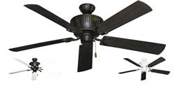 Gulf Coast - Centurion Decorative Outdoor Ceiling Fan w/ 60
