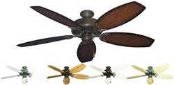 Gulf Coast - Dixie Belle Outdoor Tropical Ceiling Fan w/ 52
