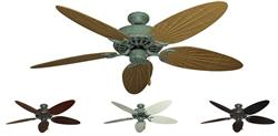 Dixie Belle Outdoor Tropical Ceiling Fan w/ 52