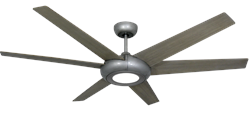60 inch Elegant Ceiling Fan - Brushed Nickel