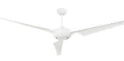 Ion 76 Pure White Ceiling Fan by TroposAir