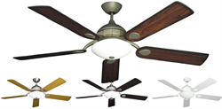 Majestic 58 inch Modern Ceiling Fan