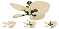 Palm Breeze II Tropical Ceiling Fan w/ 48