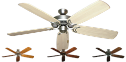 60 inch Riviera Ceiling Fan - Arbor 450 Hand Crafted Blades