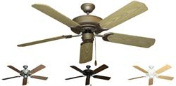 Gulf Coast - Raindance Traditional Ceiling Fan w/ 52