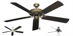 Gulf Coast - Raindance Traditional Ceiling Fan w/ 60