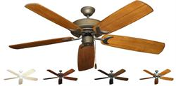 Gulf Coast - Raindance Outdoor Tropical Ceiling Fan w/ 60