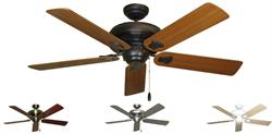 Gulf Coast - Tiara Traditional Ceiling Fan w/ 52