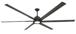 84 inch Titan II Oil Rubbed Bronze Ceiling Fan with light