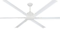 72 inch Titan II Pure White Ceiling Fan