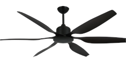 66 inch Titan II Oil Rubbed Bronze Ceiling Fan