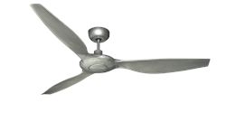 TroposAir Vogue 60 inch Ceiling Fan Brushed Nickel